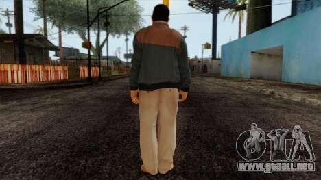 GTA 4 Skin 47 para GTA San Andreas segunda pantalla