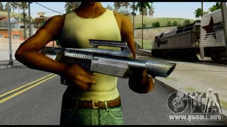 Jackhammer from Max Payne para GTA San Andreas tercera pantalla