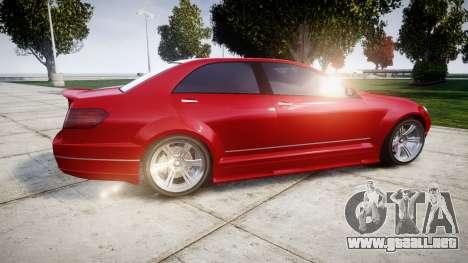 GTA V Benefactor Schafter body wide rims para GTA 4 left