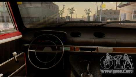 VAZ 2101 Zhiguli para la visión correcta GTA San Andreas