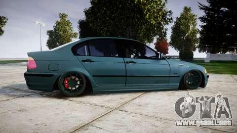 BMW E46 M3 2000 para GTA 4 left