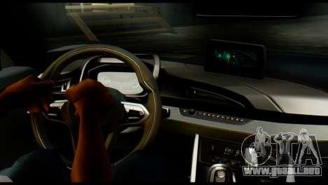 BMW I8 2013 para GTA San Andreas vista posterior izquierda