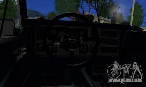 Jeep Mini-Truck para GTA San Andreas vista posterior izquierda