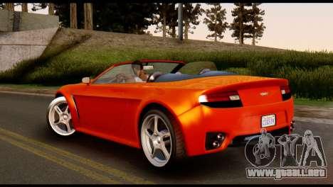 GTA 5 Dewbauchee Rapid GT Cabrio [IVF] para GTA San Andreas left