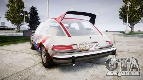 AMC Pacer para GTA 4 Vista posterior izquierda