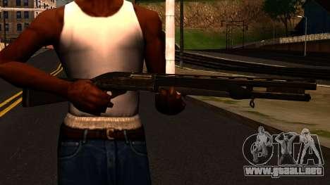 Shotgun from GTA 4 para GTA San Andreas tercera pantalla