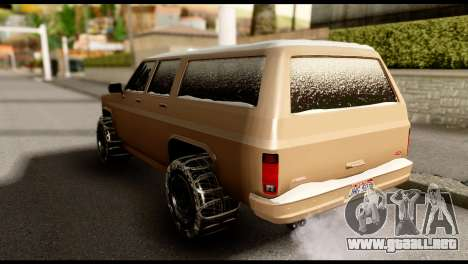 GTA 5 RancherXL para GTA San Andreas