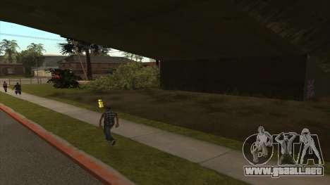 Transporte de tanque de remolque para GTA San Andreas segunda pantalla