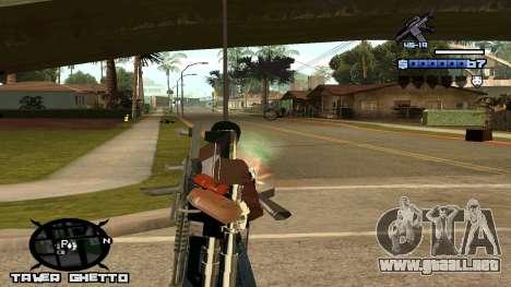HUD Ghetto Tawer para GTA San Andreas tercera pantalla