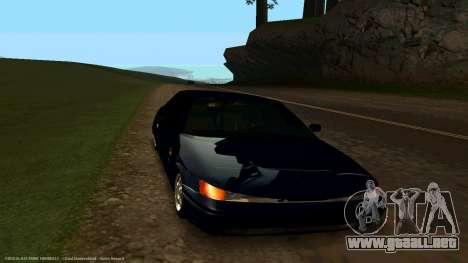 VAZ 21123 de Bad Boy para GTA San Andreas vista hacia atrás