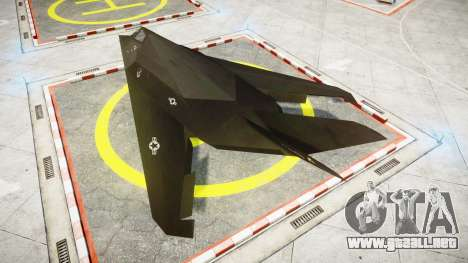 Lockheed F-117 Nighthawk para GTA 4 left