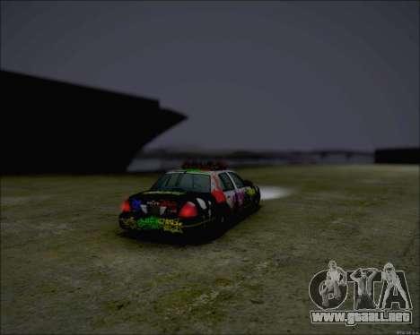 Ford Crown Victoria Ghetto Style para GTA San Andreas left