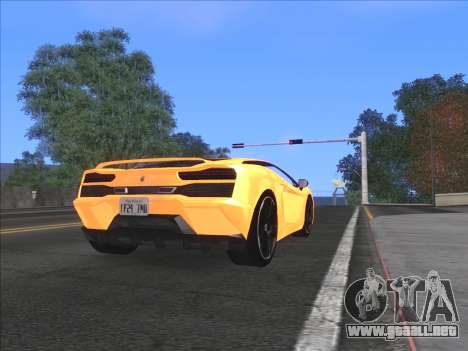 Agradable ColorMod para GTA San Andreas sucesivamente de pantalla