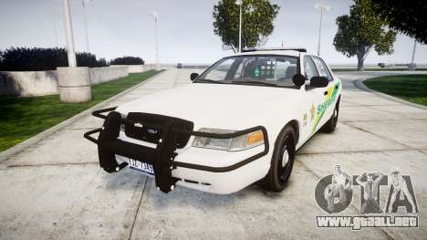 Ford Crown Victoria Martin County Sheriff [ELS] para GTA 4