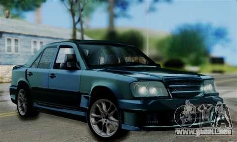 Mercedes-Benz W124 BRABUS V12 para GTA San Andreas