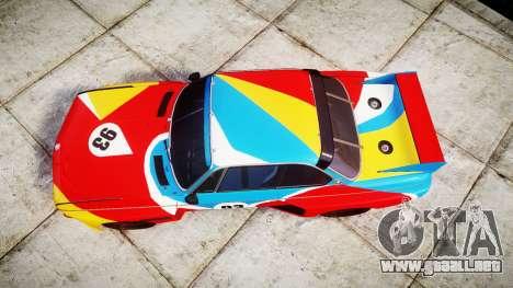 BMW 3.0 CSL Group4 1973 Art para GTA 4 visión correcta