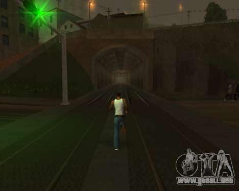 Colormod Dark Low para GTA San Andreas twelth pantalla