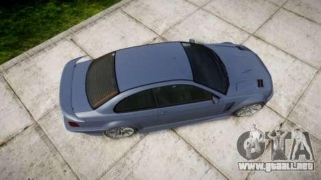 Ubermacht Sentinel Turbo para GTA 4 visión correcta