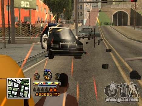 C-Color HUD (mejorado) para GTA San Andreas segunda pantalla