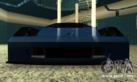 HD Turismo para GTA San Andreas vista hacia atrás