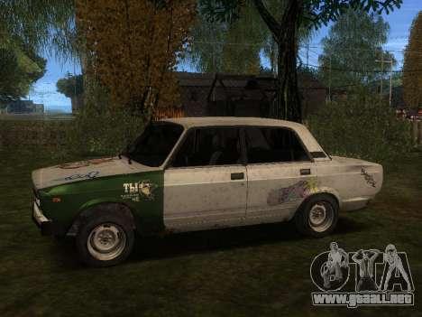 VAZ 2105 Rusty comedero para GTA San Andreas left
