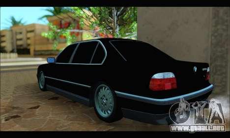 BMW 750iL para la visión correcta GTA San Andreas
