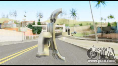 Fear Wilhelm Tell from Metal Gear Solid para GTA San Andreas segunda pantalla
