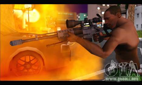 Raab KM50 Sniper Rifle From F.E.A.R. 2 para GTA San Andreas