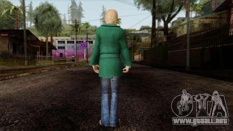 GTA 4 Skin 35 para GTA San Andreas segunda pantalla