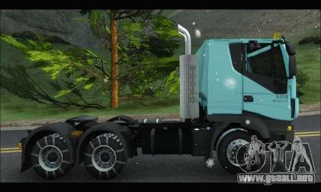 Iveco Trakker 2014 Snow para GTA San Andreas