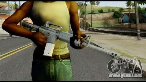 Colt Commando from Max Payne para GTA San Andreas