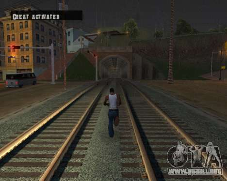 Colormod Dark Low para GTA San Andreas décimo de pantalla