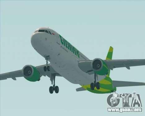 Airbus A320-200 Citilink para el motor de GTA San Andreas