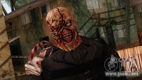 Resident Evil Skin 9 para GTA San Andreas tercera pantalla