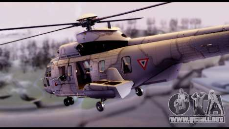 EC-725 Super Cougar para GTA San Andreas left