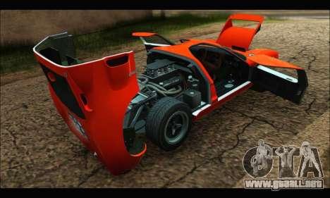 Ford GT40 MKI 1965 para visión interna GTA San Andreas
