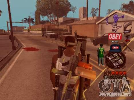 C-HUD Sweet para GTA San Andreas tercera pantalla