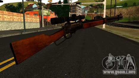 Marlin Model 1895 from Gotham City Impostors para GTA San Andreas segunda pantalla