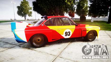 BMW 3.0 CSL Group4 1973 Art para GTA 4 left