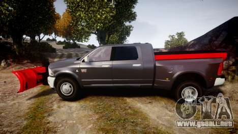 Dodge Ram 3500 Plow Truck [ELS] para GTA 4 left