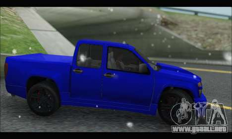 Chevrolet Colorado Codered 2004 para GTA San Andreas left
