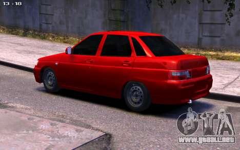 De los FLOREROS 2110 para GTA 4 Vista posterior izquierda