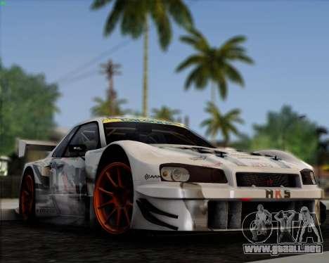 EazyENB para GTA San Andreas quinta pantalla