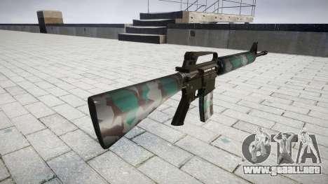 El rifle M16A2 varsovia para GTA 4 segundos de pantalla
