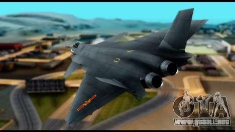 Chenyang J-20 BF4 para GTA San Andreas left