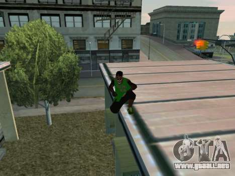 Fam3 Skin para GTA San Andreas quinta pantalla