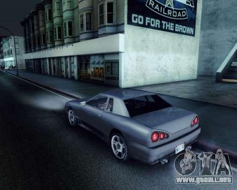 Gráfico Mod v5.0 для GTA San Andreas para GTA San Andreas tercera pantalla
