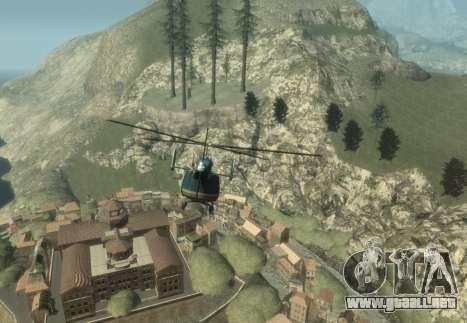 La Riviera Francesa para GTA 4 adelante de pantalla