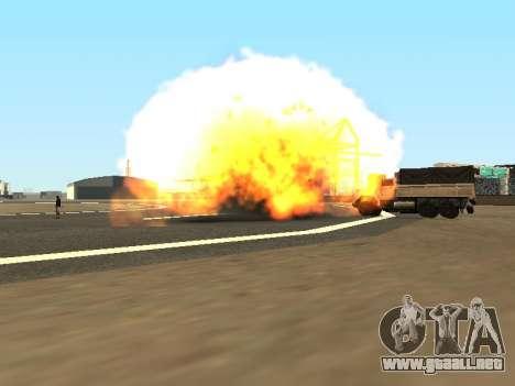 Dynamite para GTA San Andreas tercera pantalla
