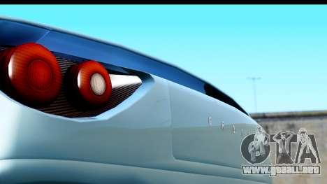 GTA 5 Grotti Carbonizzare v3 (IVF) para GTA San Andreas vista posterior izquierda